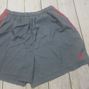 Vintage Adidas Mens Nylon Running Shorts